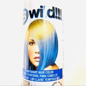 B Wild!!! Blue Temporary Hair Color Spray